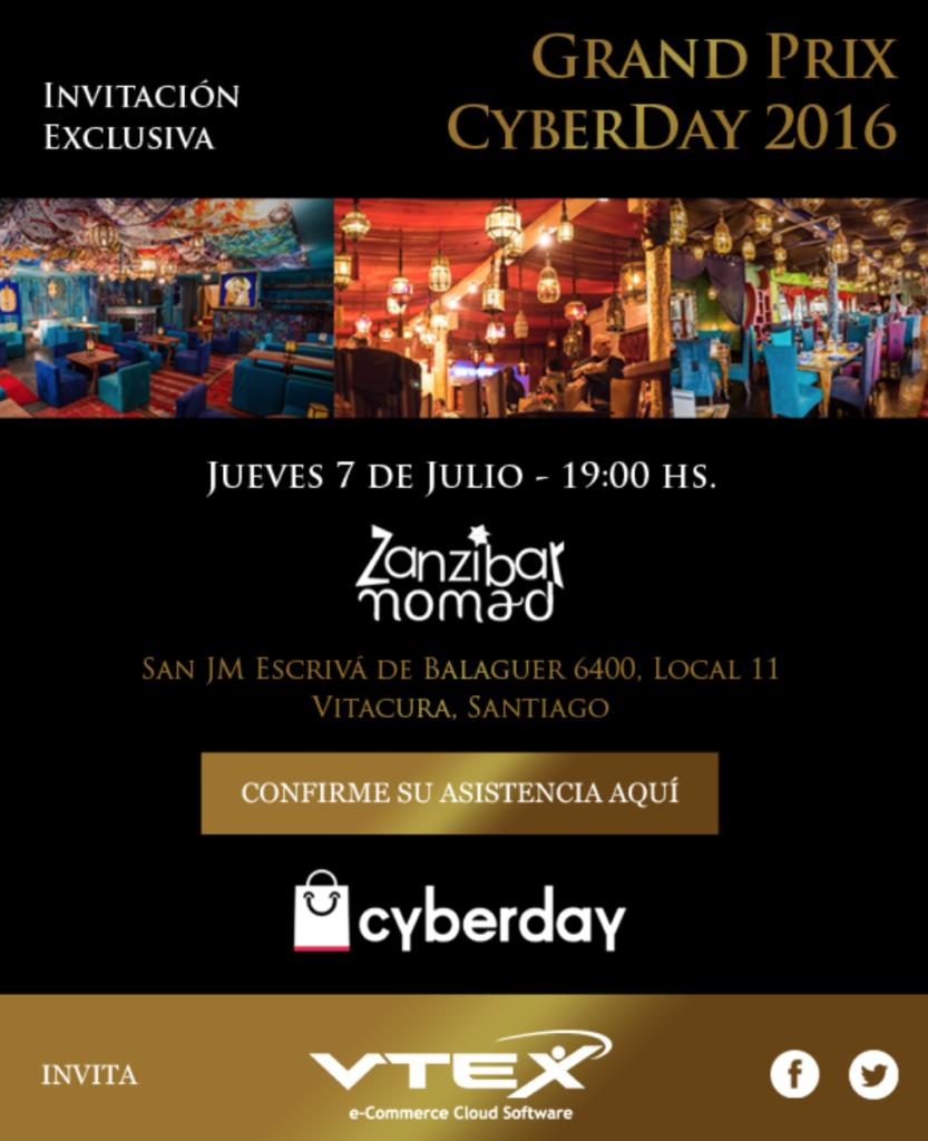 Grand Prix Cybeday Chile 2016