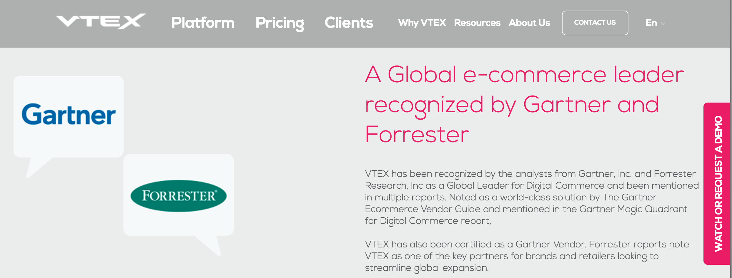VTEX Cloud eCommerce Software