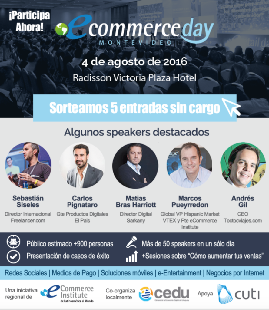 eCommerce DAY Montevideo 2016