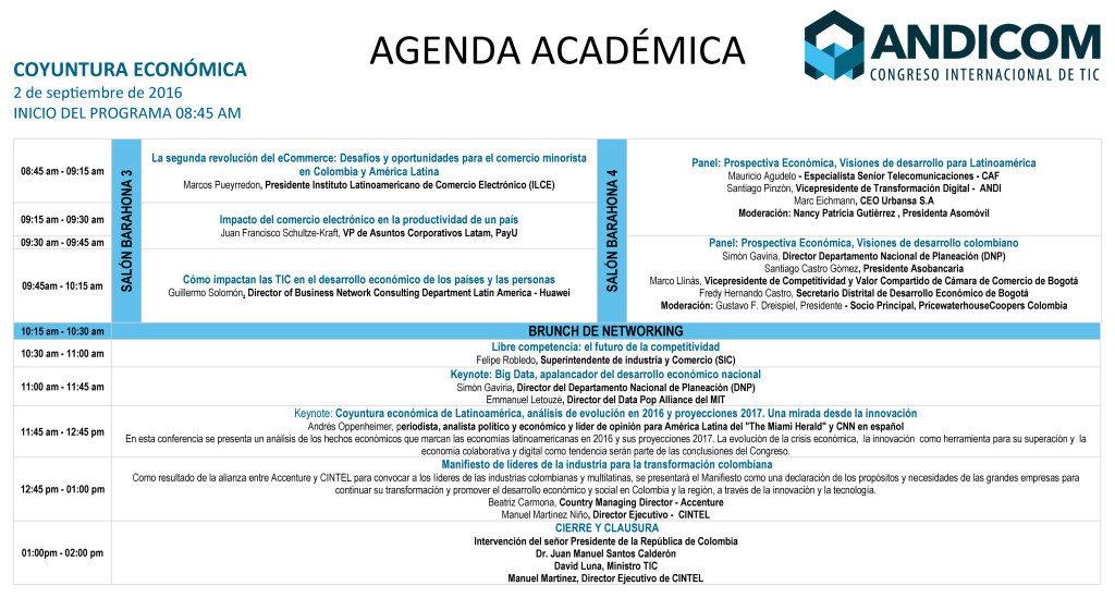 Keynote en Andicom 2016