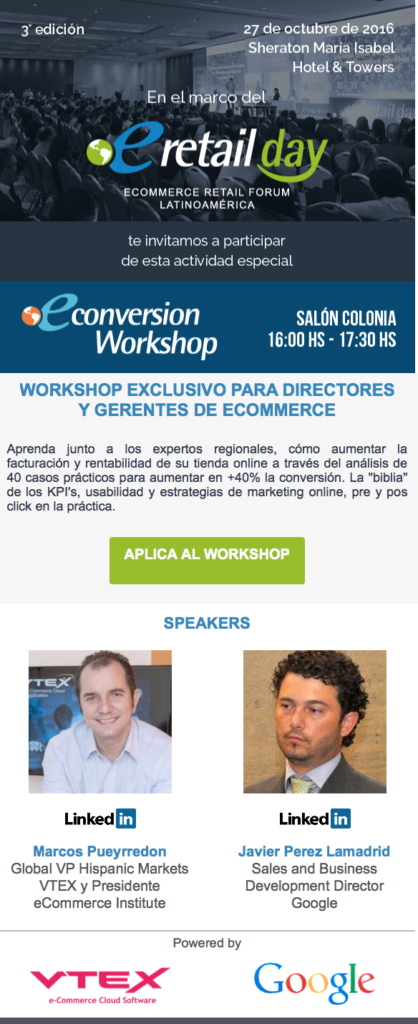 Econversion Workshop Mexico