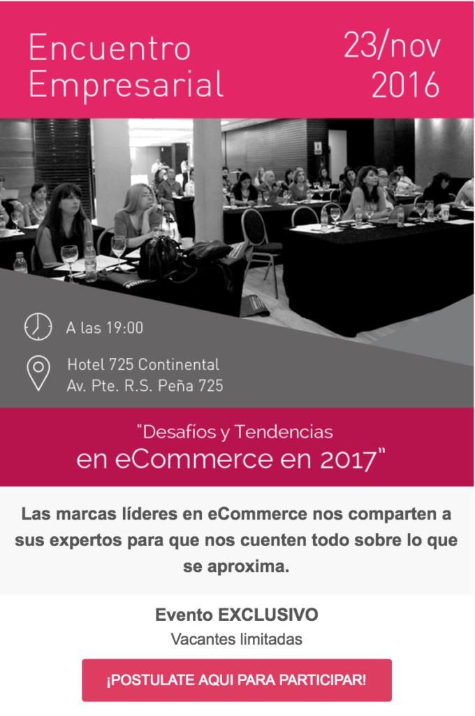 Desafios y Tendencias Ecommerce 2017