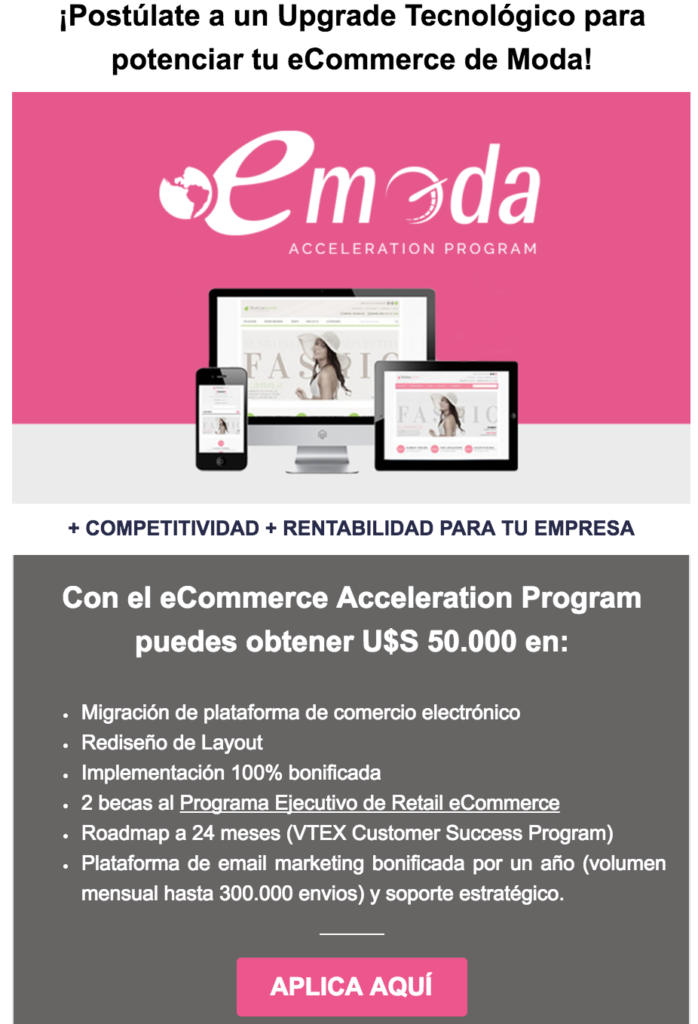 eModa Acceleration Program