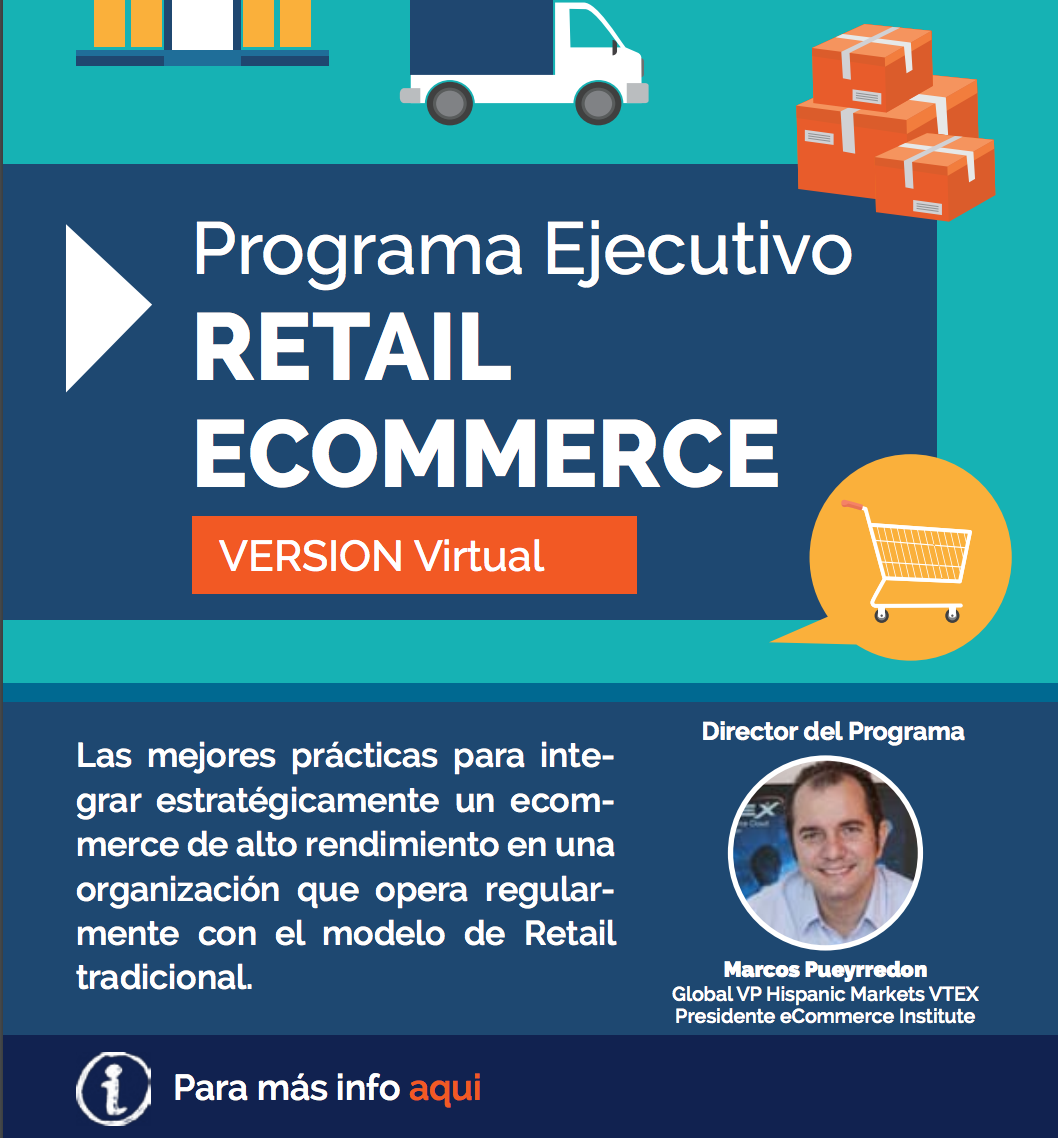 Programa Ejecutivo de retail eCommerce version 100% Online