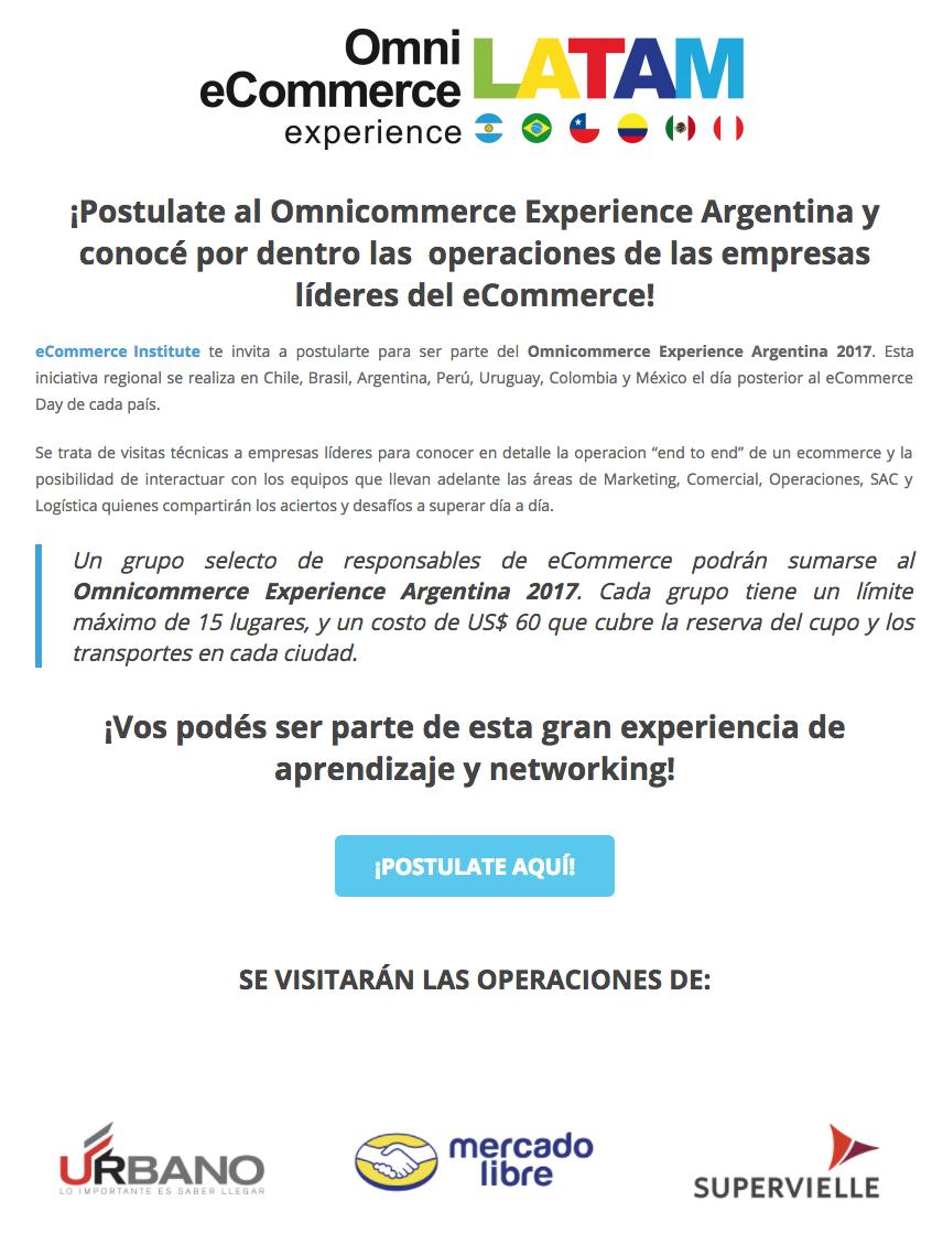 Omnicommerce Experience Argentina 2017
