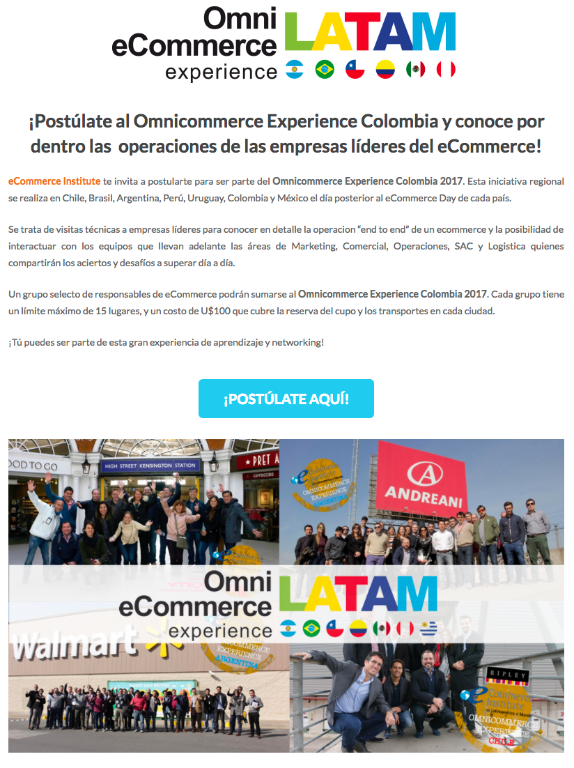 Omnicommerce Experience Colombia 2017